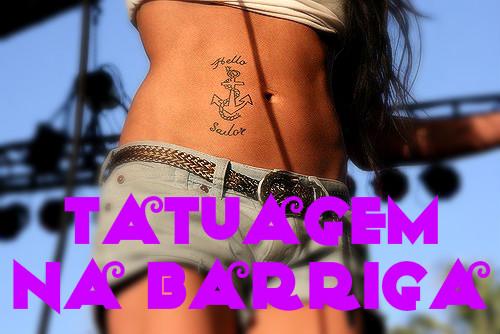 Tatuagens Femininas na Barriga – Cuidados e Modelos