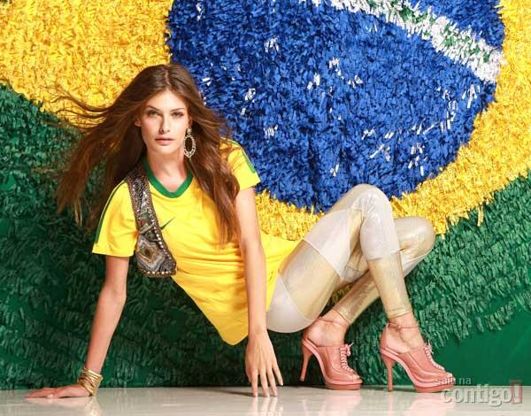 Looks Femininos Para Usar na Copa do Mundo de 2014 – Ver Modelos e Dicas