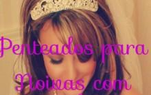 Penteados Com Coroas Para Noivas 2014 – Dicas e Modelos