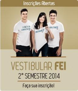 Vestibular 2ª Semestre da FEI  2014