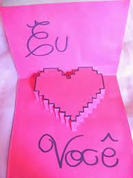 Cartão Pixelado Criativo Para o Dia dos Namorados 2014