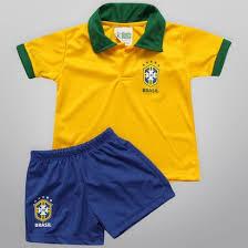 Camisetas do Brasil Para Crianças