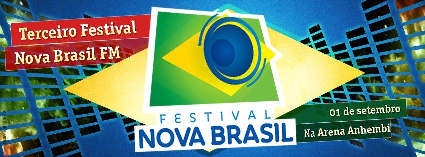 Festival Nova Brasil FM 5ª Edição 2014 – Comprar Ingressos Online