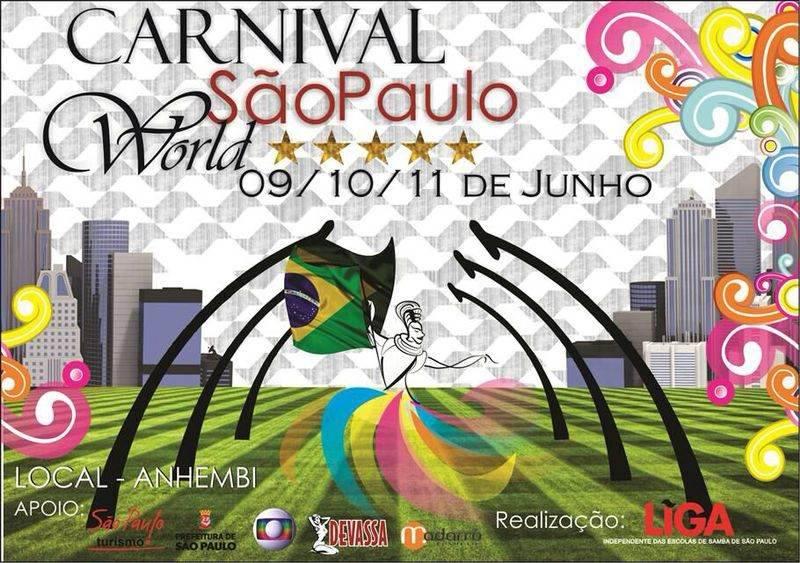 Carnival São Paulo World 2014 – Ver Programação Completa