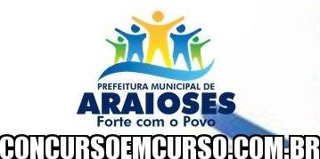 Concurso Público Prefeitura de Araioses MA 2014 – Fazer as Inscrições