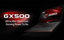 Novo Notebook Gamer GX500  Asus  2014 – Ver Fotos