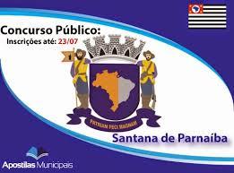 Concurso Público Prefeitura de Santana de Parnaíba 2014 – Fazer as Inscrições