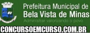 Concurso Prefeitura de Bela Vista de Minas