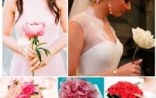 Tendências em Buquês de Noivas Para 2014 – Ver Modelos