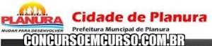 Concurso Prefeitura de Planura MG 2014