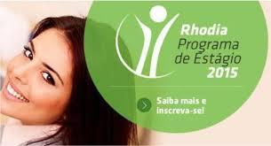 Programa de Estágio Empresa Rodhia 2015 – Fazer as Inscrições