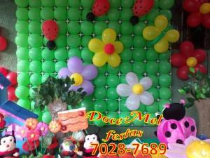 painel em balão