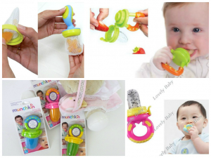 Alimentador de Frutas Para Bebês