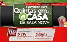 Promoção Sky Quintas em Casa de Sala Nova 2014 – Como Participar