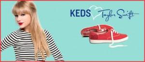 Nova Coleção de Tênis Keds com a Taylor Swift Verão 2015