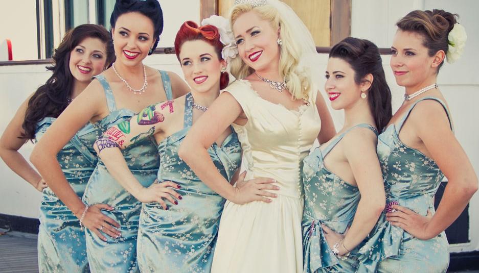 Vestidos de Noiva Pin Up Tendências 2014 – Ver Fotos, Preço e Onde comprar