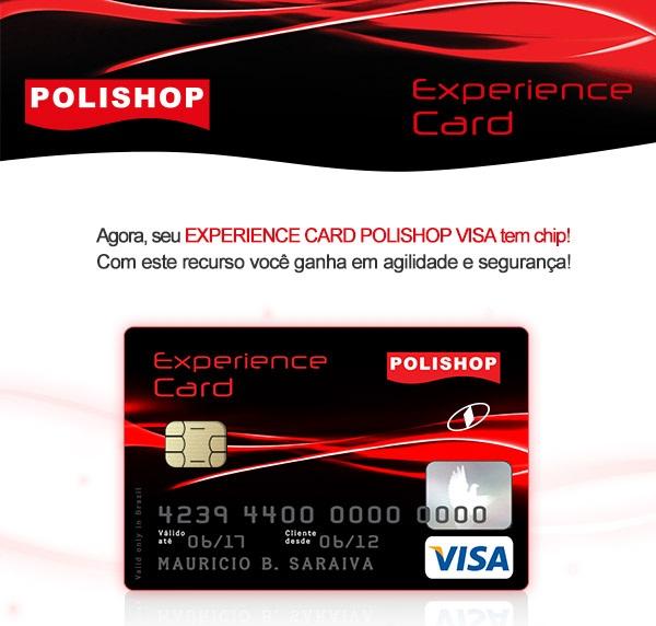Experience Card Cartão Polishop – Como Solicitar, Cadastro e Vantagens
