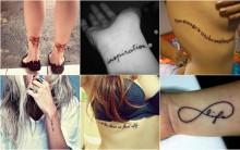 Frases Para Tatuagens Femininas -Dicas de Frases e Fotos