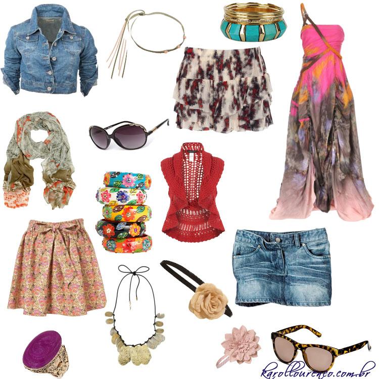 Moda Hippie Chic – Como Usar e Fotos