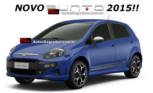 Novo Carro Fiat Punto 2015 – Ver Fotos, Preços, Vídeos e Características