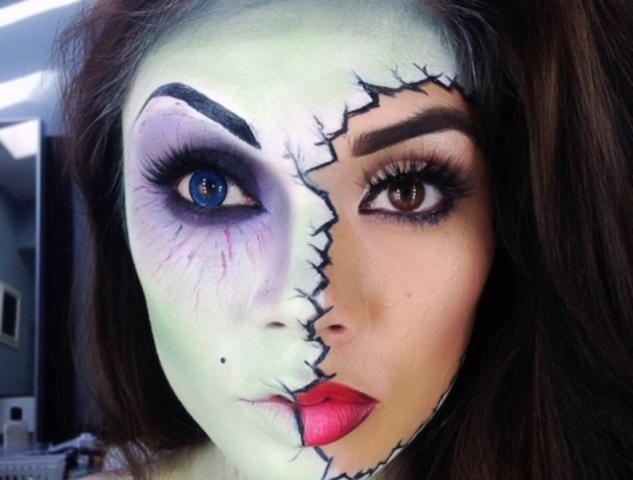 Maquiagem Para Halloween – Como Fazer ,Fotos e Vídeo