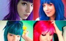 Cabelos Coloridos Para 2015 – Dicas e Fotos