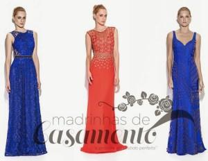vestidos de madrinha 2015