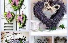 Guirlandas Criativas Para o Natal – Como Fazer, Fotos, Vídeos