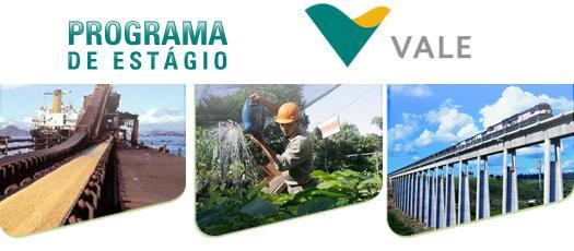 Programa de Trainee Vale do Rio Doce 2015 – Fazer as Inscriçoes Online