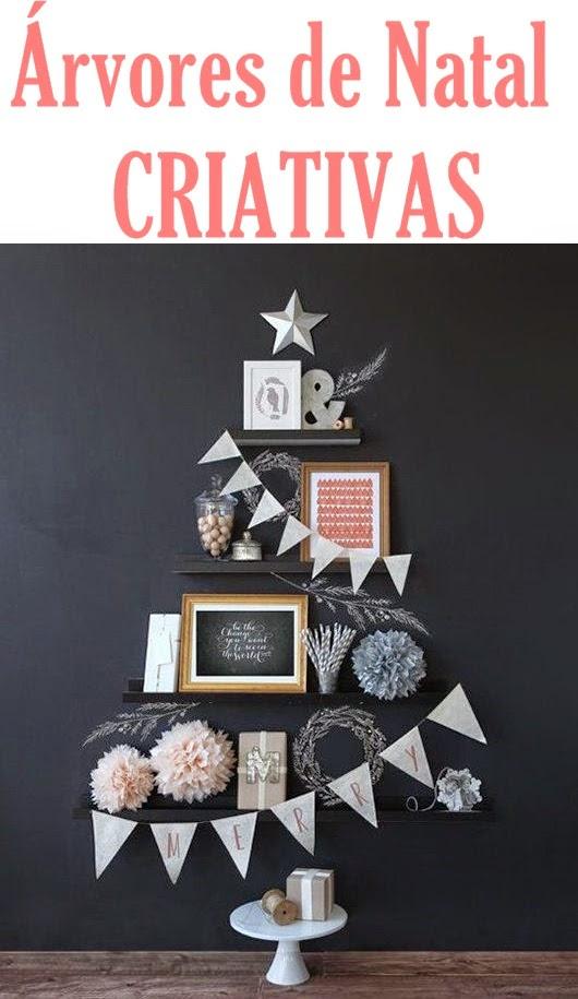Árvores de Natal Criativas Para Decorar a Casa –  Modelos e Dicas
