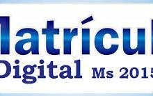 Matricula Digital Campo Grande MS 2015 – Fazer Cadastro Online