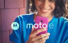 Smartphone Motorola Moto E – Fotos, Preço e Onde Comprar