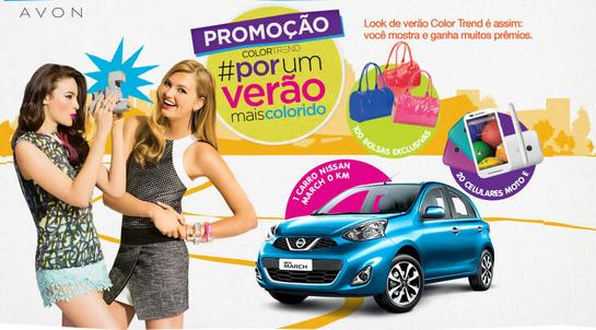 Promoção Avon Color Trend Por um Verão Mais Colorido 2015 – Como Participar