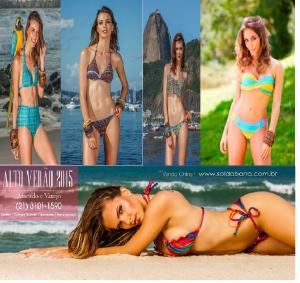Coleção de Biquínis Sol da Barra Verão 2015
