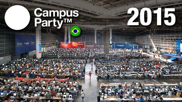 Campus Party Brasil 2015 –  Comprar Ingressos e Como se Inscrever