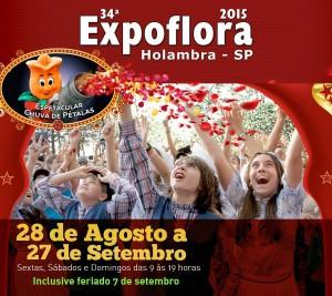 34ª Edição Expoflora em Holambra SP 2015