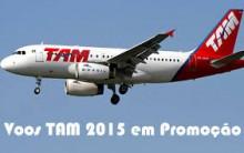 TAM Promoção Passagens Aéreas Para 2015 – Comprar Online