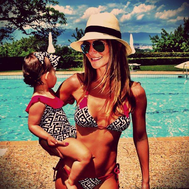 Moda Praia Mãe e Filha Tendência Para o Verão 2015 – Modelos e Dicas