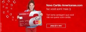 Novo cartão de Crédito Lojas Americanas