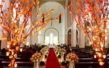 Decoração de Igrejas Para Cerimônias de Casamentos 2015 – Fotos