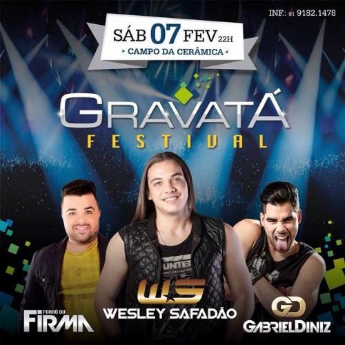 Festival de Verão Gravatá 2015 – Comprar de Ingressos