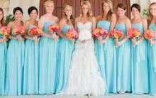 Tendências de Cores Vestidos Para Madrinhas de Casamentos 2015 – Ver Modelos