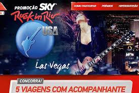Promoção sky Rock In Rio Usa 2015