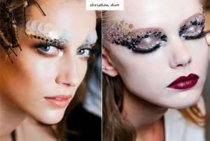 Maquiagens de Carnaval Com Lantejoulas
