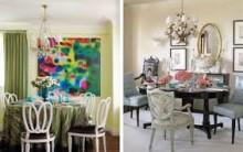 Telas Decorativas Para Salas de Jantar – Ver Fotos e Dicas