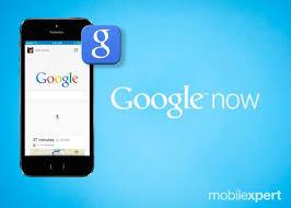 Aplicativo Google Now