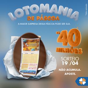 Lotomania de Páscoa 2015