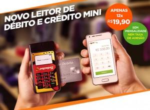 Novo Leitor de Crédito e Débito Mini Pagseguro
