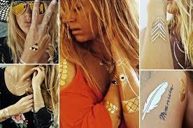 Flash Tattoos Tendências da Moda