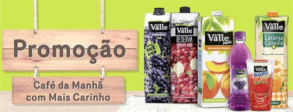 Promoção Del Valle Café da Manha Com Mais Carinho- Como Participar